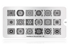 MoYou-London Schablone Mandala Collection 03