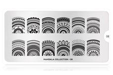 MoYou-London Schablone Mandala Collection 08