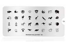 MoYou-London Schablone Princess Collection 04