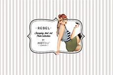 MoYou-London Schablone Rebel Collection 04