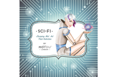 MoYou-London Schablone SCI-FI Collection 04