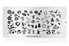 MoYou-London Schablone Suki Collection 02