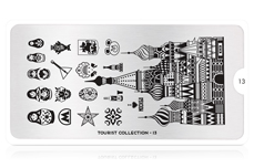 MoYou-London Schablone Tourist Collection 13