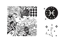 MoYou-London Schablone Zodiac Collection 02