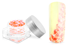 Jolifin Confetti Glitter - neon-peach