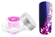 Jolifin Confetti Glitter - neon-pink