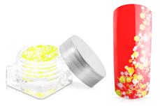 Jolifin Confetti Glitter - neon-yellow