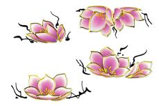 Jolifin Airbrush Tattoo Gold Nr. 1