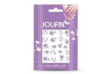 Jolifin Airbrush Tattoo Silber Nr. 1