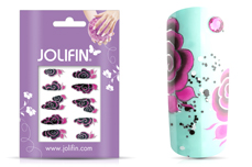 Jolifin Airbrush Tattoo Silber Nr. 2