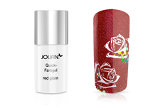 Jolifin Carbon Quick-Farbgel red glam 11ml