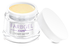 Jolifin Farbgel goldy Glitter 5ml