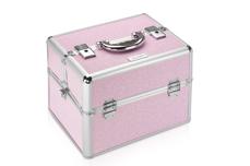 Jolifin Mobiler Kosmetik Koffer pink Glitter - B-Ware 2
