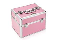 Jolifin Mobiler Kosmetik Koffer pink - B-Ware 2
