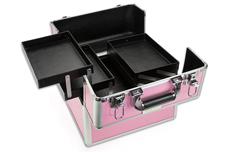 Jolifin Mobiler Kosmetik Koffer pink - B-Ware