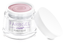 Jolifin Farbgel pearly nude 5ml