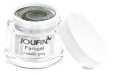 Jolifin Farbgel metallic grey 5ml