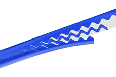 Jolifin Pinstripes Wave blau