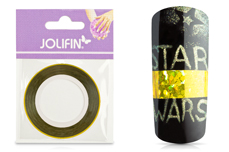 Jolifin Pinstripes hologramm gold - 3mm
