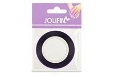 Jolifin Pinstripes hologramm lila - 3mm