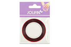 Jolifin Pinstripes hologramm rot - 2mm