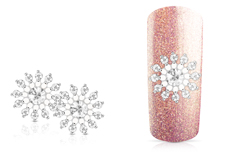 Jolifin Overlay Glitter Blume