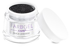 Jolifin Farbgel black universe 5ml
