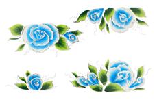Jolifin Airbrush Tattoo Silber 5