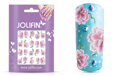 Jolifin Airbrush Tattoo Silber 6