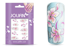 Jolifin Airbrush Tattoo Silber 7