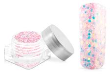 Jolifin Nightshine Illusion Glitter - babypink