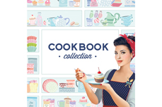 MoYou-London Schablone Cook Book Collection 13