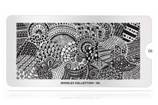 MoYou-London Schablone Doodles Collection 06