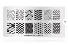 MoYou-London Schablone Fashionista Collection 04