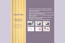 MoYou-London Schablone Festive Collection 21
