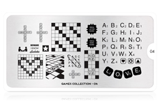 MoYou-London Schablone Games Collection 04