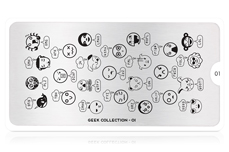 MoYou-London Schablone Geek Collection 01