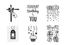 MoYou-London Schablone Happy Birthday 01