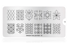MoYou-London Schablone Origami Collection 10