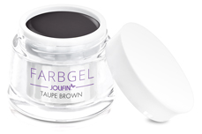 Jolifin Farbgel taupe brown 5ml
