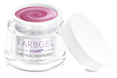 Jolifin Farbgel metallic raspberry 5ml