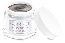 Jolifin Farbgel metallic steel 5ml