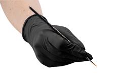 Premium Latexhandschuhe black Gr. L