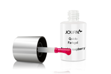 Jolifin Carbon Quick-Farbgel sparkle raspberry 11ml