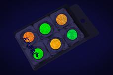 Jolifin Nightshine Glitterpuder Set