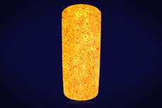 Jolifin Nightshine Glitterpuder - neon-orange