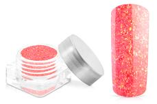 Jolifin Nightshine Glitterpuder - neon-coral