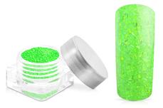 Jolifin Nightshine Glitterpuder - neon-green