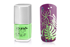 Jolifin Stamping-Lack - spring-green 12ml