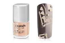Jolifin Stamping-Lack - nude 12ml